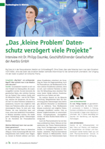 Averbis Healtcare Big Data Magazing going public