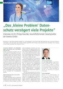 Averbis Healtcare Big Data Magazing going public