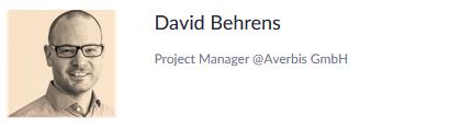 David Baehrens, Project Manager Averbis GmbH