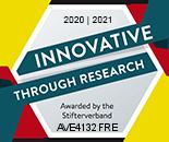 Averbis - Innovative through research ausgezeichnet vom Stifterverband