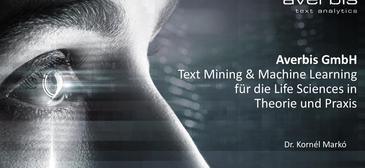 Biovalley Presentation Text Mining and Machine Learning