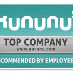kununu Averbis Top Company seal