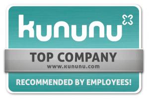 kununu Averbis Top Company seal