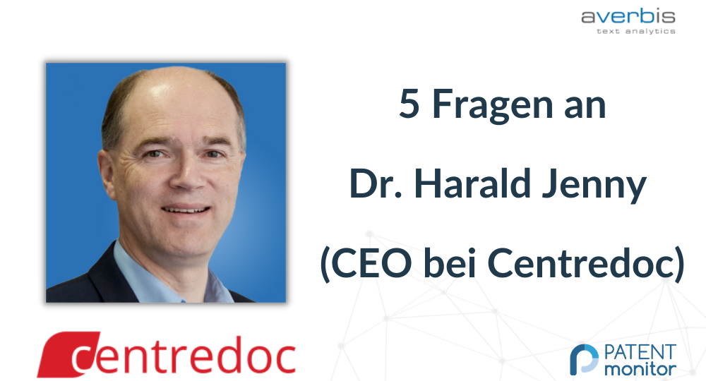 5 Questions for Dr. Harald Jenny (CEO of Centredoc) DE